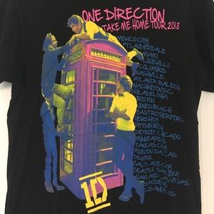 1d Tops Exclusive D Take Me Home Tour Shirt Poshmark