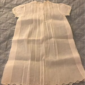 Other - 100% linen new born gown.