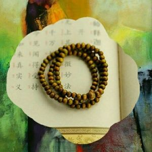 Jewelry - Hand-crafted Buddist Prayer Beads.Hand-crafted