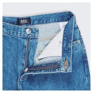 A.P.C. Pants - A.P.C. Rue Madame Paris Cut-Offs