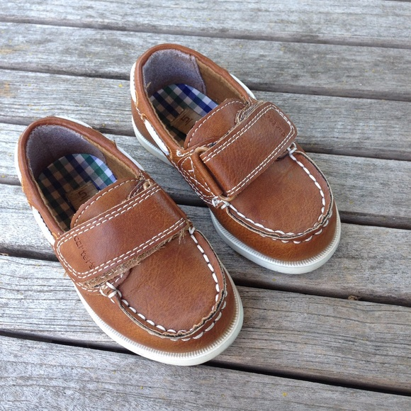 Carter's - Carters Toddler Boys Brown Boat Shoes from ...