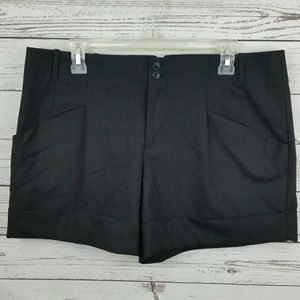 GAP Pants - {Gap Dressy Black Cuffed Shorts}