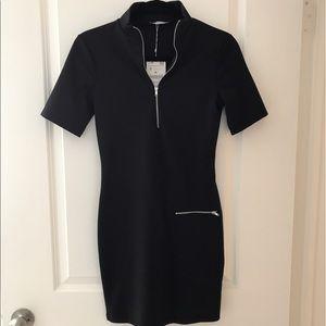 75 off trafaluc tops zara trafaluc hoodie with anime for Zara black t shirt dress