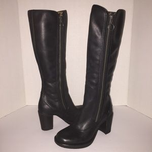 Fly London Shoes - Fly London Black Hock Knee High Boots Shoes 5/35