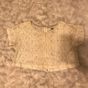 5th Culture Tops - Lace Crop Top