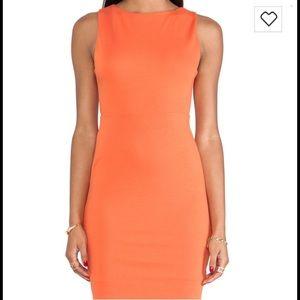 Alice & Olivia Dresses & Skirts - Alice and Olivia orange  sheath dress NWOT