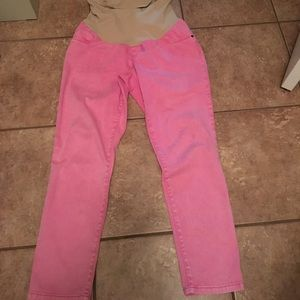 Motherhood Maternity Denim - CLEAN OUT!Motherhood maternity jeans large EUC