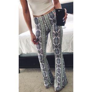 Pants - NEW boho flare pants