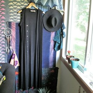 Vintage Tops - Vintage chico's duster