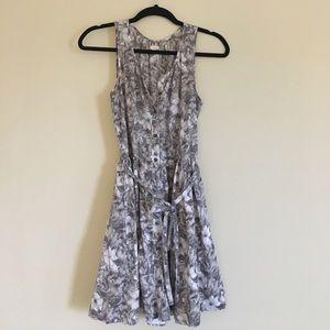 Gap Sleeveless Floral Dress