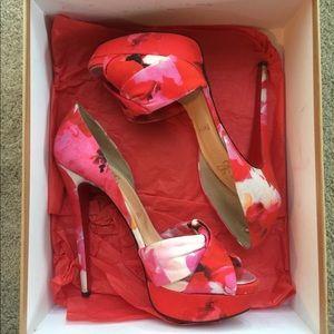 62e8104fd41b Christian Louboutin Shoes - Christian Louboutin Volpi 150 Popi Floral Heel
