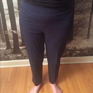 Brunello Cucinelli Pants - Brunello Cucinelli Size 14 Navy Blue Dress Pants.