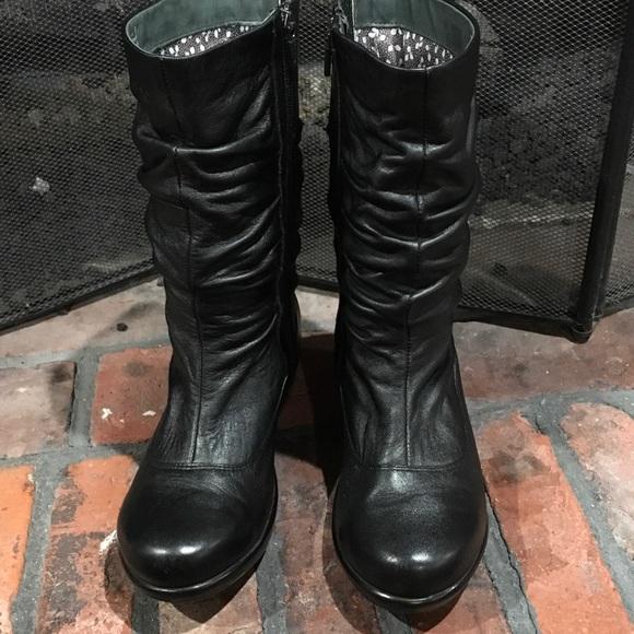 dansko dansko black leather boots size 38 from janice s