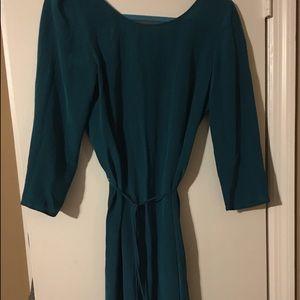 Rory Beca Dresses & Skirts - Dark turquoise Rory beca silk tie dress