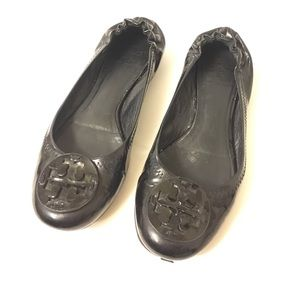 Tory Burch Shoes - Tory Burch Minnie Travel Patent Ballet Flat