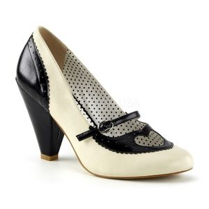 Shoes - Pin Up Shoes High Heels Vintage 1950s Style