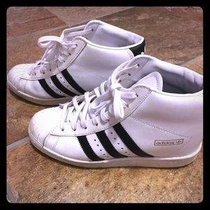 adidas Shoes - Adidas Originals Superstar Sneaker Wedges size 7