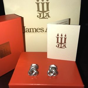 James Avery Trefoil Ear posts
