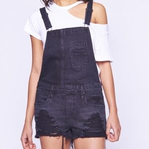Blank NYC Shorts - Overall rock steady overalls by BLANKNYC