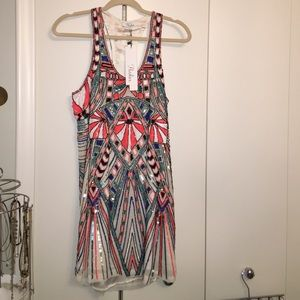 Parker Dresses & Skirts - Multicolor beaded dress