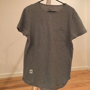 NATIVE YOUTH Other - NATIVE YOUTH gray waffle shirt
