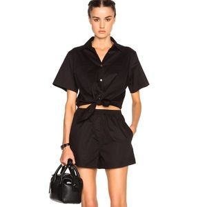 T by Alexander Wang Pants - T by Alexander Wang Tie Front Romper