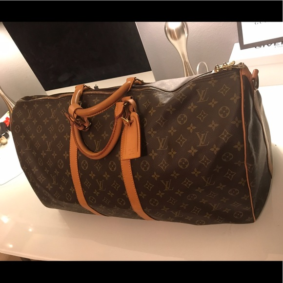 Louis Vuitton Handbags - LOUIS VUITTON KEEPALL 60 (Men Women) Travel Bag 173a67983ebc2