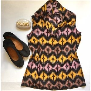 Violet & Claire ikat sleeveless top