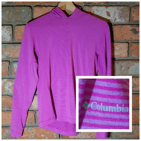 59% off Columbia Tops Sunday Trail Hoodie Pullover M Berry ...