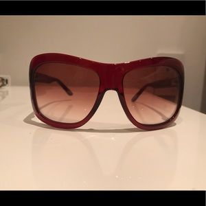 Tom Ford Accessories - Dark Red Tom Ford Sunglasses