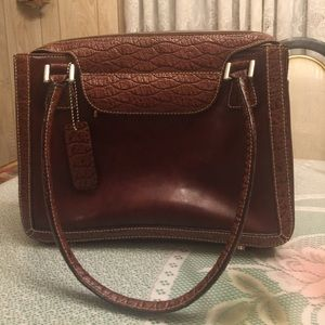 Bellerose Handbags - NEW Bellerose Leather Handbag Purse