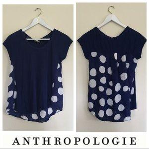 Anthropologie Tops - Porridge Polka Dotted Top