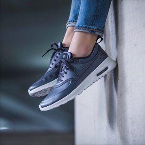 Nike Shoes - NIKE Air Max Thea SE Metallic Sneakers
