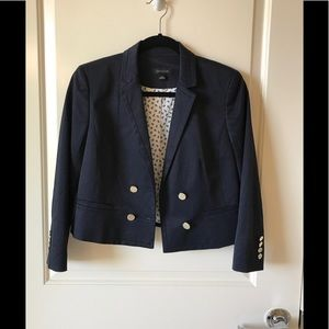 Ann Taylor lightweight double breasted jacket