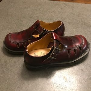 Dr. Martens Shoes Womens Size 5 Red 8251