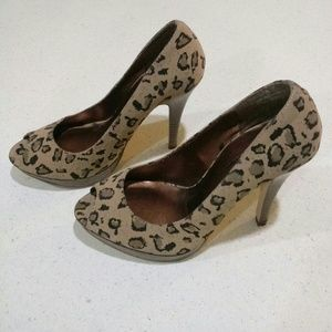Delicious Shoes - Delicious Animal Print High Heels