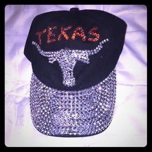 Accessories - Sparkly Texas Ballcap