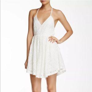 Asilio Dresses & Skirts - Asilio 'Shine a Light' T-Back Ivory Dress Size 4