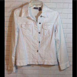 Chico's Jackets & Blazers - CHICOS Denim jacket