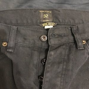 10 Deep Other - Black destroyed style jeans from 10 DEEP