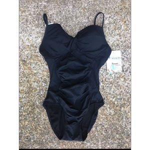 ASSETS by Sara Blakely Other - NWT ASSETS BLACK ONE PIECE SUIT