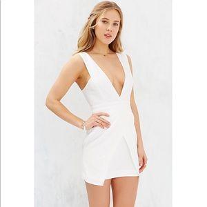 fc1f8066b35 Finders Keepers Dresses - Finders Keepers white Basic Instinct mini dress