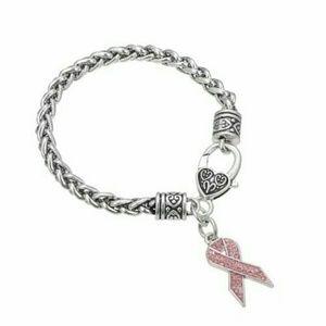 Jewelry - Breast Cancer Awareness Pink Ribbon Jewelry