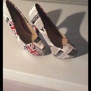 bumper Shoes - British platform high heel