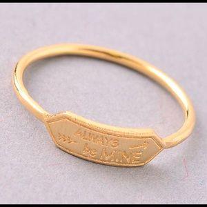 Jewelry - 🦋SALE🦋Always Be Mine Midi Ring
