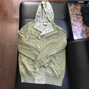 BOSS ORANGE Other - Hugo boss green hooded button sweater