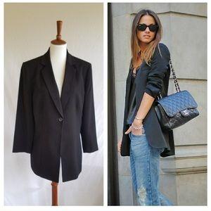 Collections for Le Suit Long Black Vintage Blazer