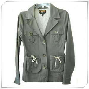 Brooklyn Industries Jackets & Blazers - Brooklyn Industries button up blazer UEC