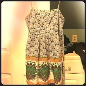 Dresses & Skirts - Summer short dress/tank. Boho. Twentyone. Like new