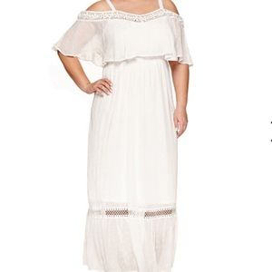 Ashley Nell Tipton Dresses & Skirts - Cold Shoulder Maxi Dress